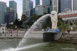 シンガポール マーライオン1