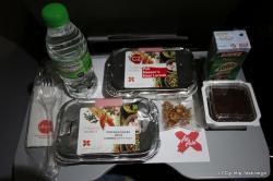 エアアジアX 機内食