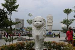 シンガポール マーライオン2