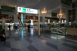 羽田空港国際線ターミナル 0時頃