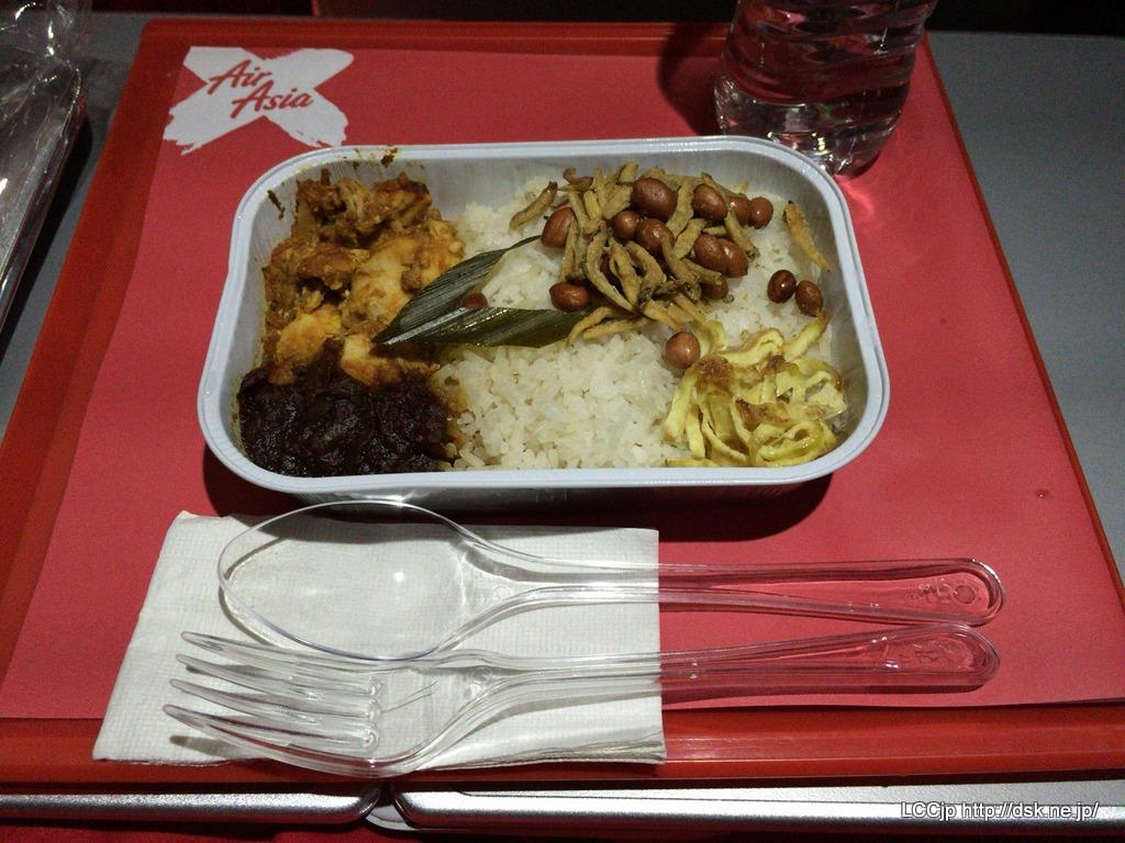 プレミアムフラットベッド 機内食 ナシレマ