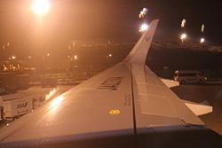 バニラエア 成田空港に23時ギリギリ到着