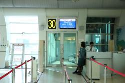 高雄国際空港 30番ゲート前