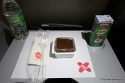 エアアジアX 機内食 デザート