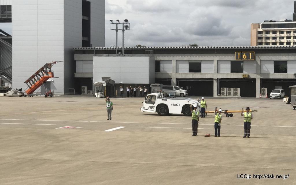 春秋航空日本 関空線就航 出発