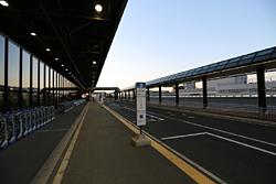 成田空港第2ターミナル北バス停付近