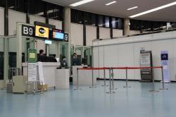 台湾桃園空港 B9搭乗ゲート