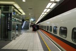 高鉄台北站 月台(プラットホーム)