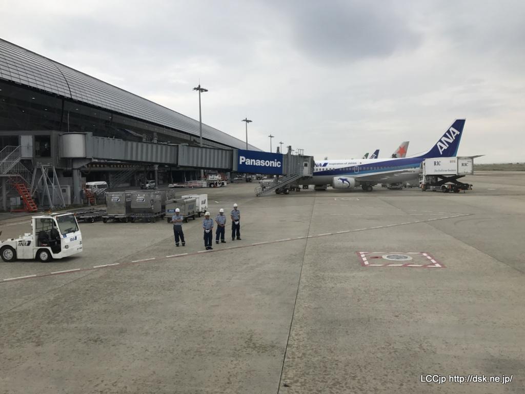 春秋航空日本 関空線就航 関空到着