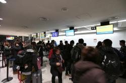成田空港 第2ターミナル Fカウンター
