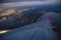 香港エクスプレス航空 まもなく羽田到着