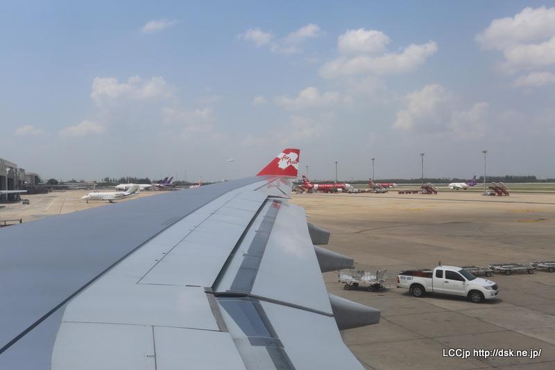 タイエアアジアX ドンムアン到着