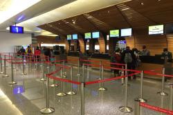 台湾桃園空港 スクートカウンター