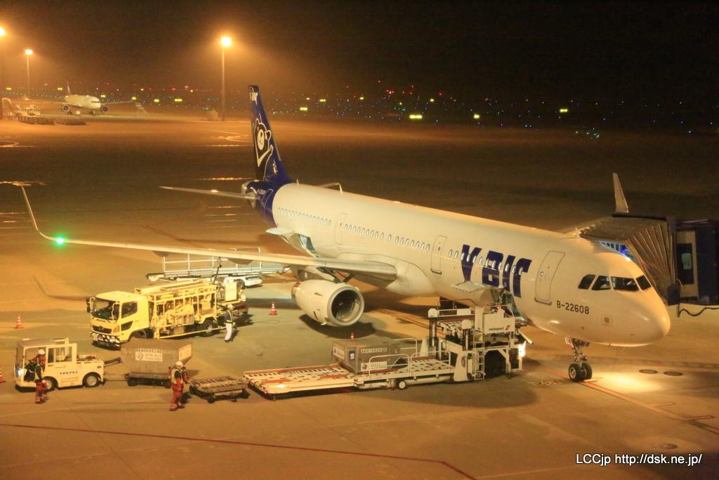Vエア A321型機