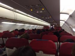 香港エクスプレス航空 機内