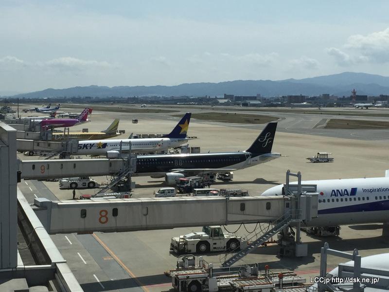 福岡空港 第2展望エリアからの眺め