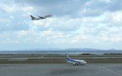 那覇空港 A&Wからの眺め
