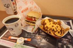 ハンバーガー A&W