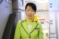 春秋航空日本 客室乗務員さん