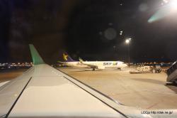 春秋航空日本 成田空港に到着