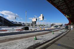 新千歳空港は猛烈に寒かった