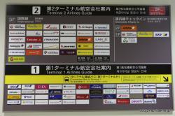 成田空港 ターミナル案内