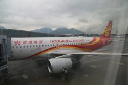 香港エクスプレス航空 香港到着