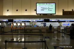 ANA 那覇空港カウンター