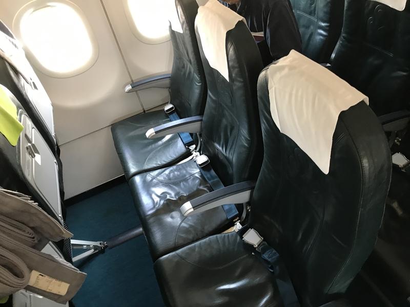 春秋航空 エコノミー座席