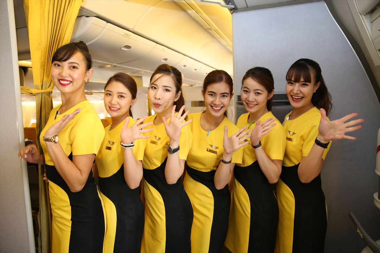 ノックスクート XW111便 客室乗務員のみなさん