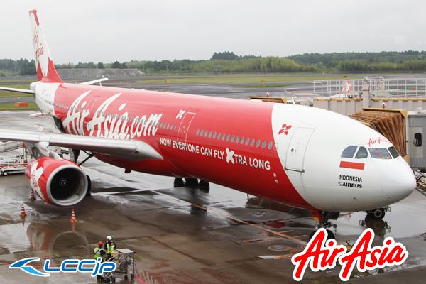★ インドネシア・エアアジアX Indonesia AirAsiaX