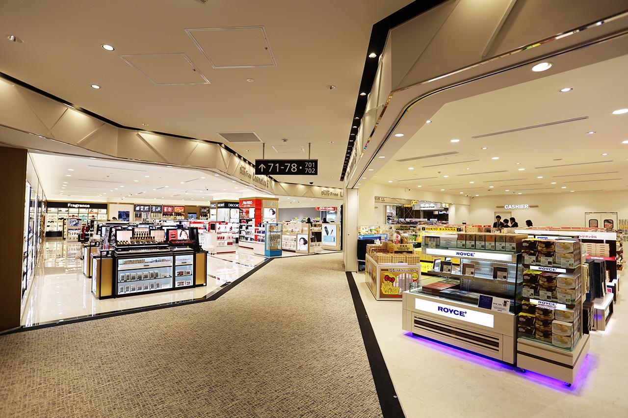 第2ターミナル 国際線 免税品エリア