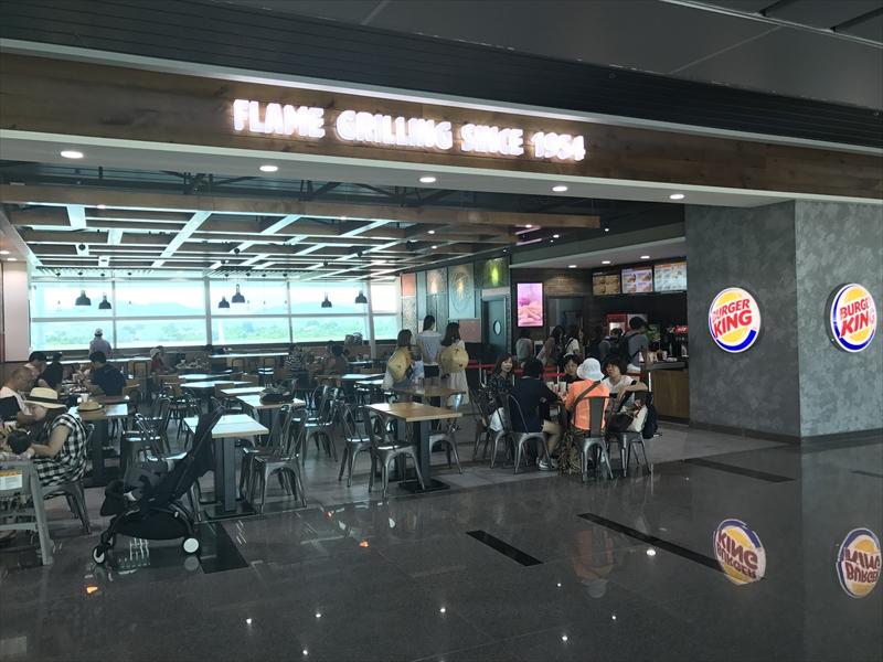 ダナン国際空港 バーガーキング