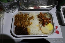 エアアジアX 機内食 ナシレマ