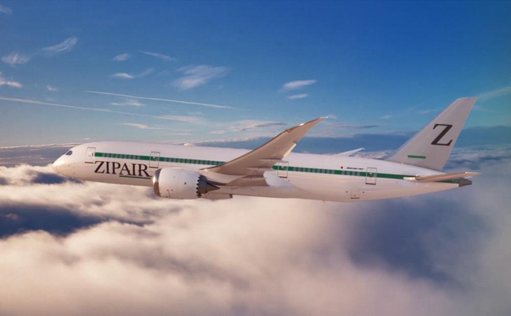 ZIPAIR 機体デザイン 写真:ZIPAIR Tokyo