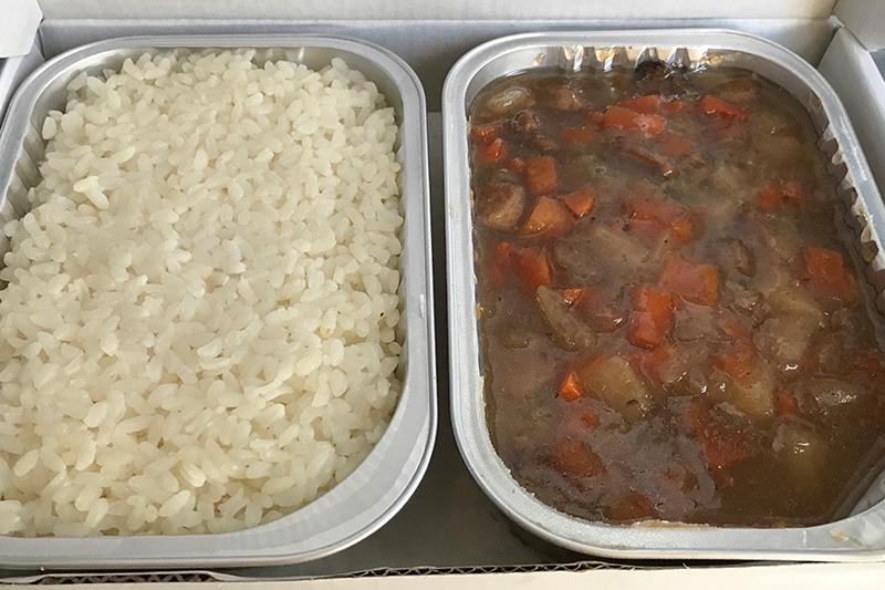 春秋航空 機内食 香港滷肉餐