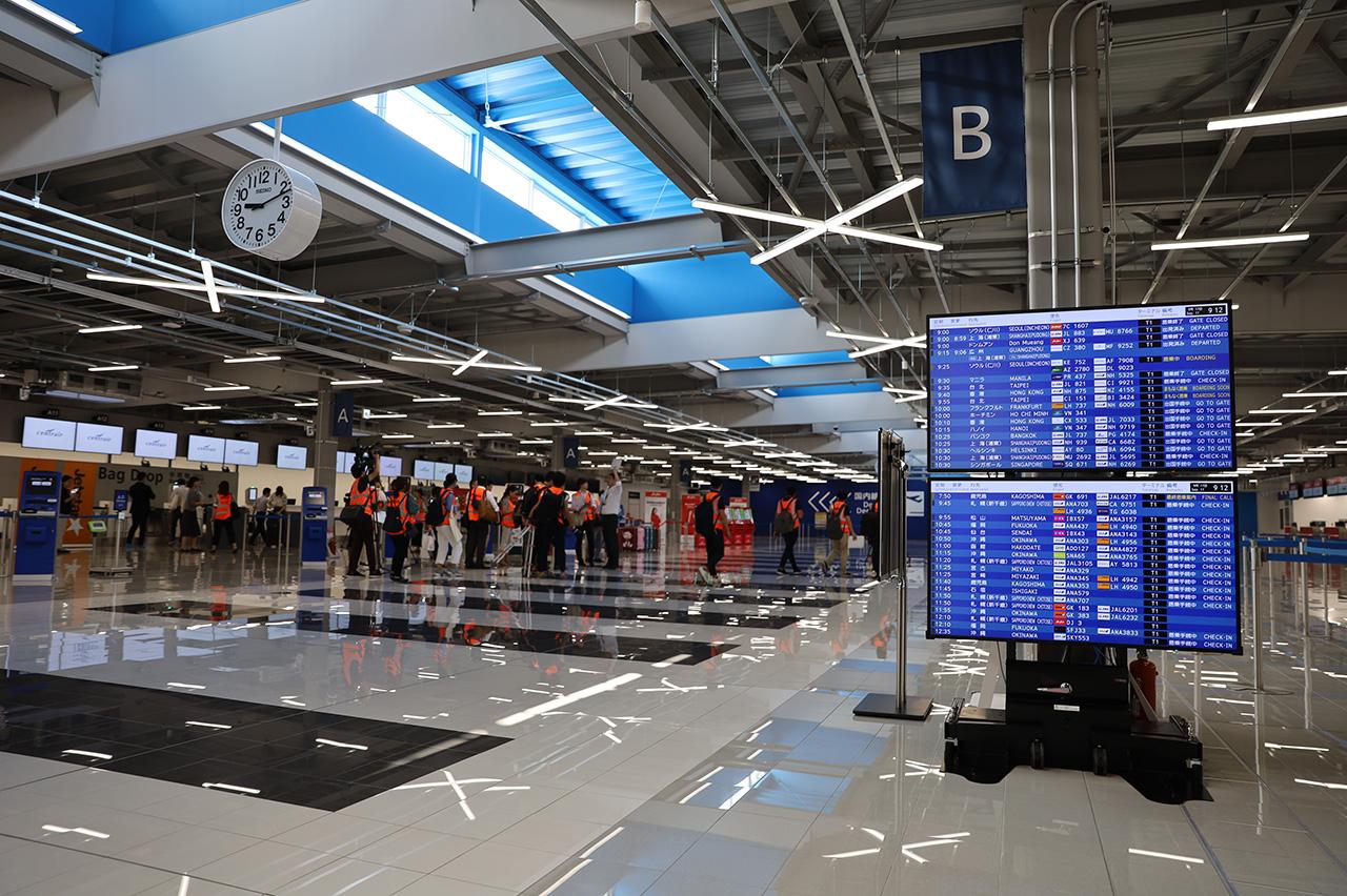 第2ターミナル チェックインフロア