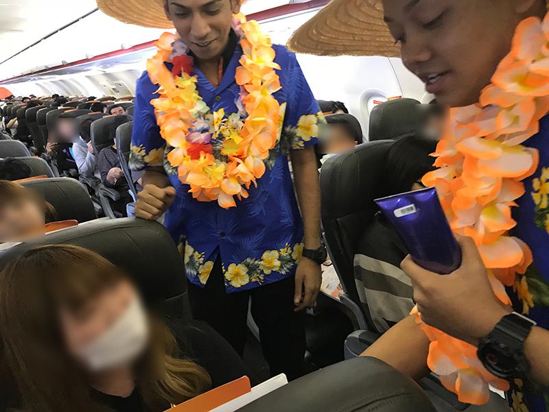 ジェットスターアジア 3K792便 機内でクイズ大会