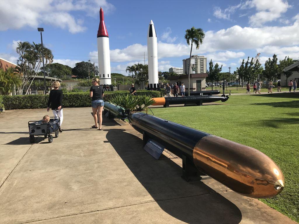 展示されている魚雷
