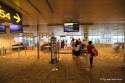 シンガポール空港 F54ゲート