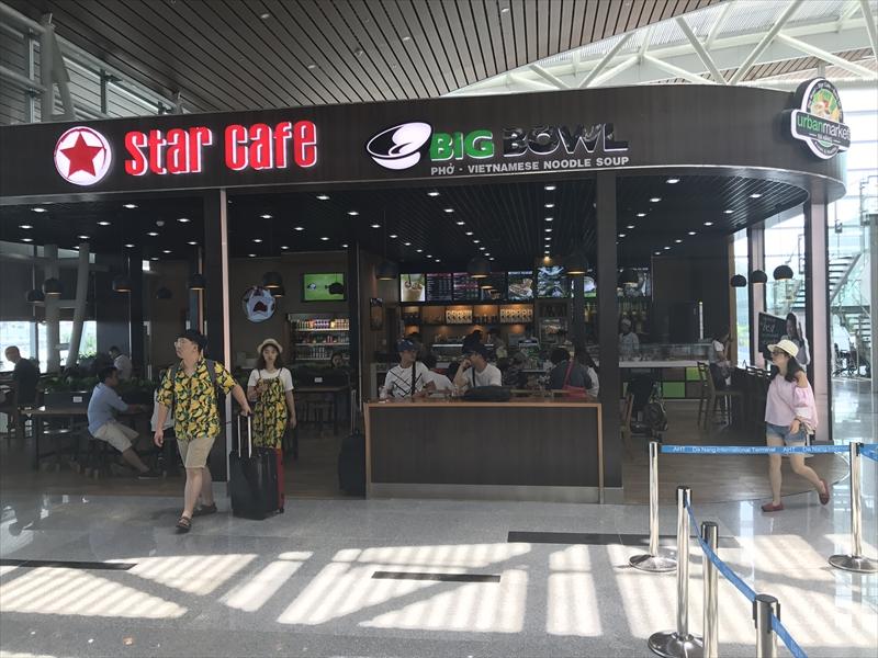 ダナン国際線 カフェ