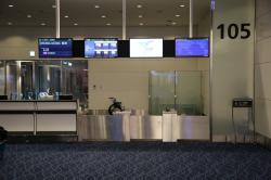 羽田空港国際線ターミナル 105番ゲート