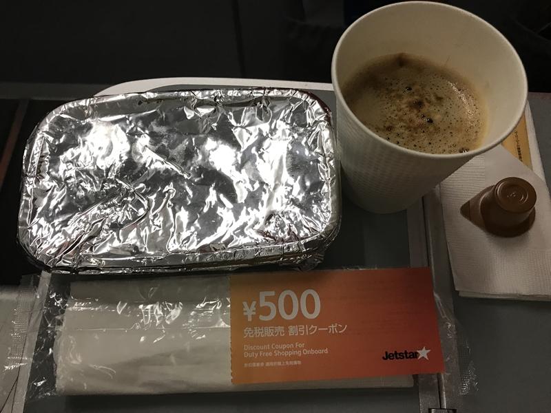 ジェットスター 機内食