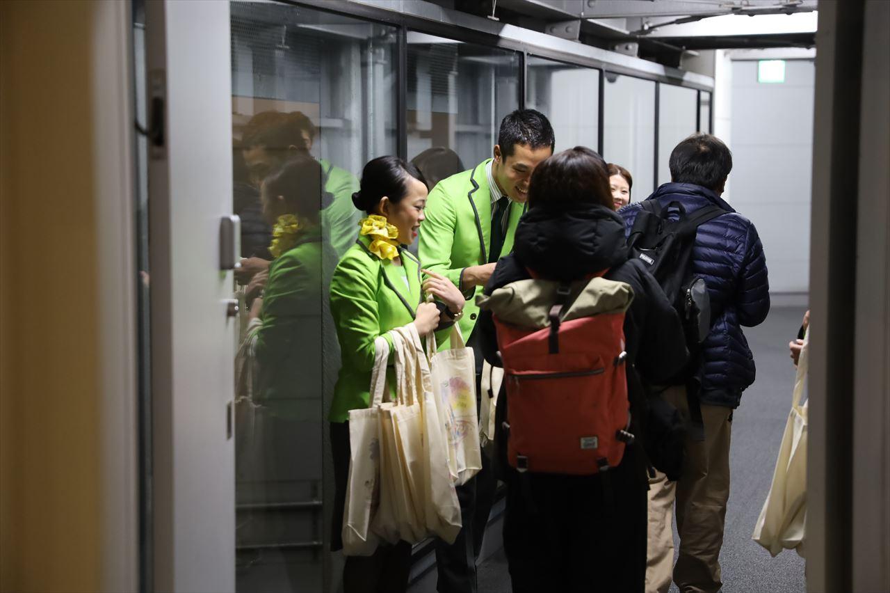 春秋航空日本 IJ001初便搭乗者にプレゼント