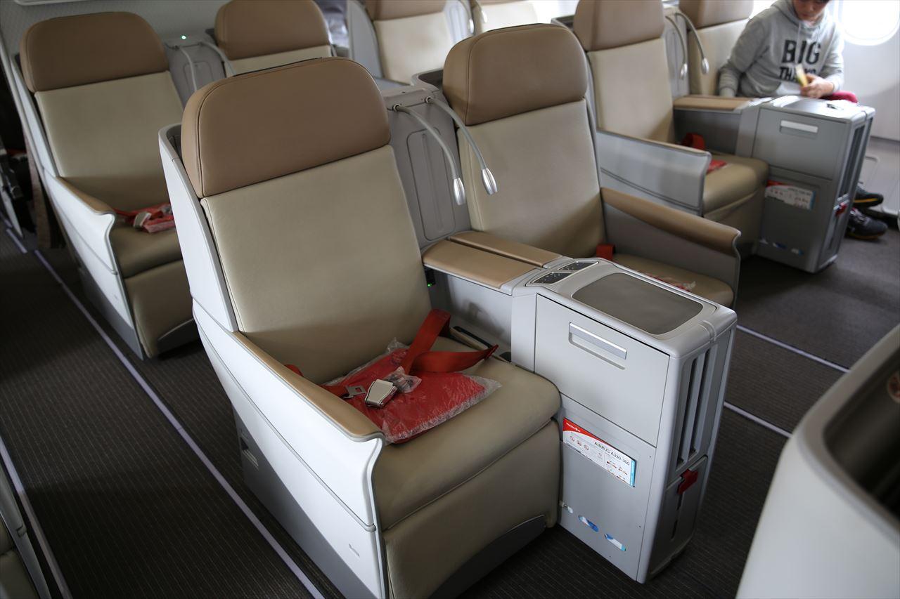 タイライオンエア 機内風景 プレミアムエコノミー席