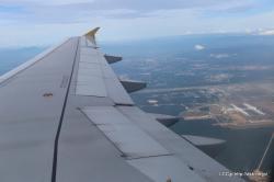 タイガーエア 機内からの眺め