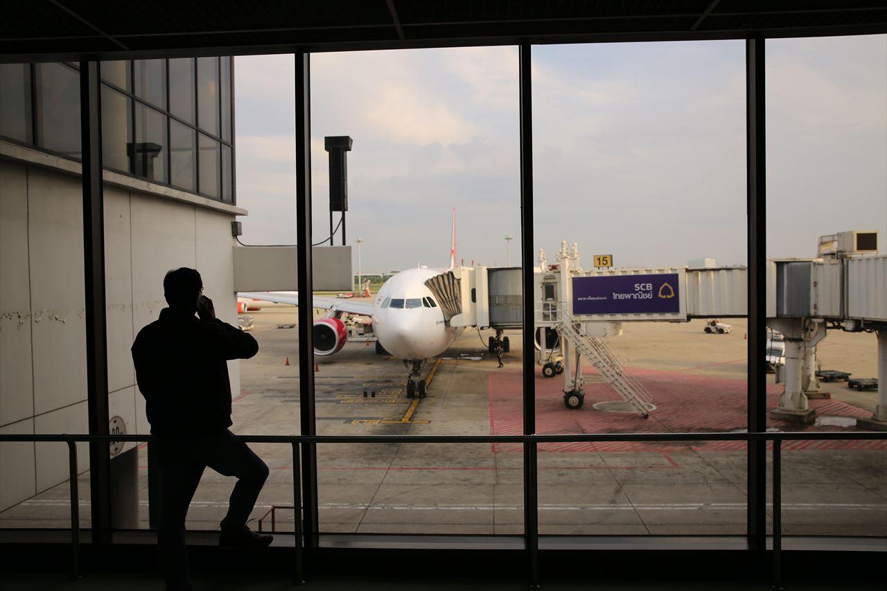タイライオンエア ドンムアン空港到着