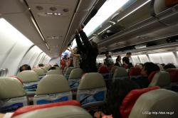 エアアジアX A330-300機内