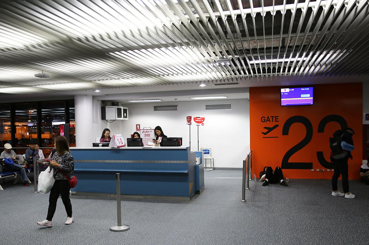 ドンムアン空港 23番搭乗ゲート