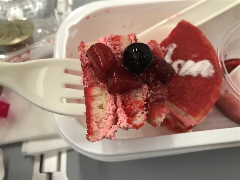 REDパンケーキ 実食